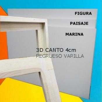 BAST. 3D (CANTO 4cm) C/TELA FORMATO PAISAJE