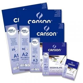 Bloc Encolado Canson Imagine Fino 200g