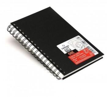Album Espiral Microperforado Canson Sketch One Fino 100g/m2