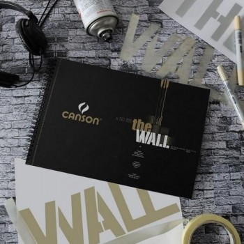 Album Espiral Microperforado 30H Canson THE WALL Extraliso 220g