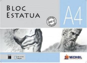 Blocs Estatua Michel (espiral) 100H 100g A4