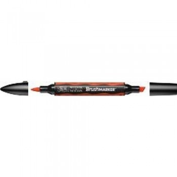 W&N BRUSH MARKER BRIGHT ORANGE (O177)