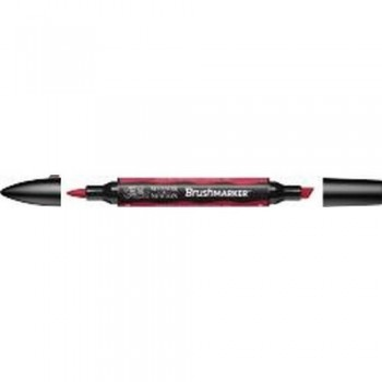 W&N BRUSH MARKER BERRY RED (R665)