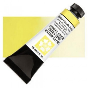 DANIEL SMITH ACUA. T.15ml N.062 Nickel Titanate Yellow
