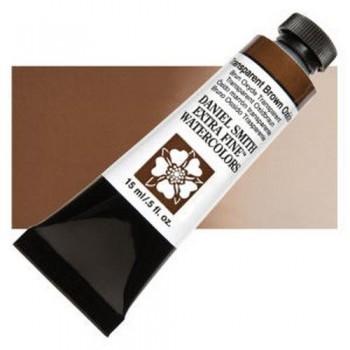 DANIEL SMITH ACUA. T.15ml N.129 Transparent Brown Oxide