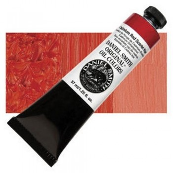 D. SMITH OLEO T.37ml Cadmium Red scarlet Hue