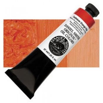 D. SMITH OLEO T.37ml Cadmium Orange Hue