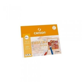 PACK 10H 130g DIBUJO BASIK CANSON