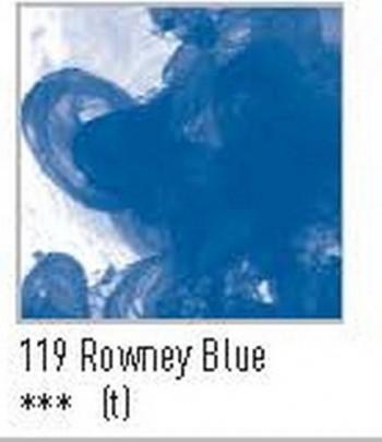 N.119 FW TINTA ACRÍLICA ROWNEY BLUE