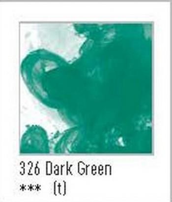 N.326 FW TINTA ACRÍLICA DARK GREEN