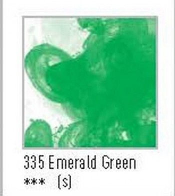 N.335 FW TINTA ACRÍLICA EMERALD GREEN