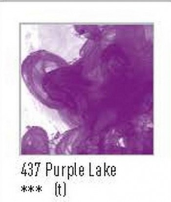 N.437 FW TINTA ACRÍLICA PURPLE LAKE