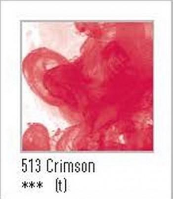 N.513 FW TINTA ACRÍLICA CRIMSON