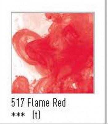N.517 FW TINTA ACRÍLICA FLAME RED