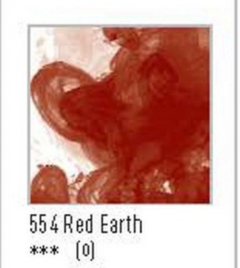 N.554 FW TINTA ACRÍLICA RED EARTH
