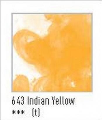N.643 FW TINTA ACRÍLICA INDIAN YELLOW