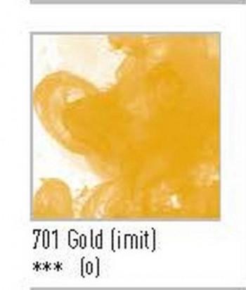 N.701 FW TINTA ACRÍLICA GOLD (IMIT)
