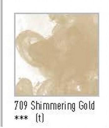N.709 FW TINTA ACRÍLICA SHIMMERING GOLD
