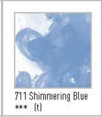 N.711 FW TINTA ACRÍLICA SHIMMERING BLUE