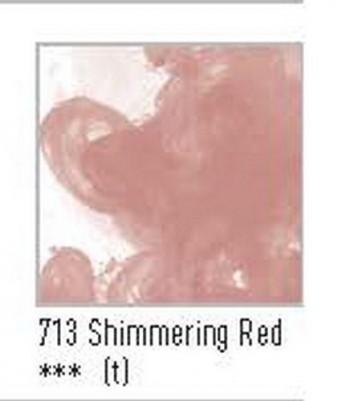 N.713 FW TINTA ACRÍLICA SHIMMERING RED