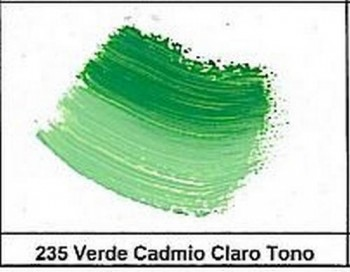 ÓLEO GARVI 200ml N.235 Verde cadmio claro tono