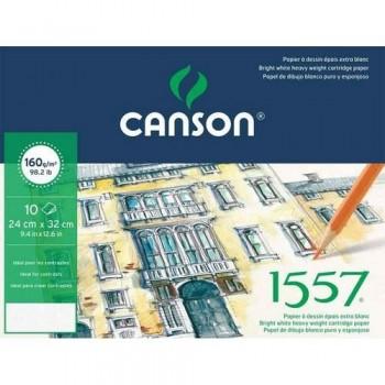 PACK 10H A3 Canson JA 1557 Fino 160g DIBUJO