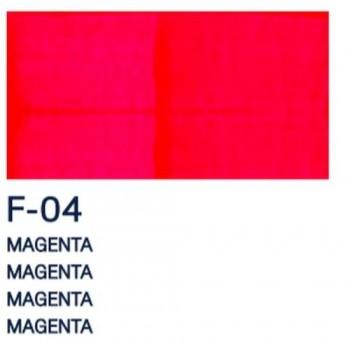 PAJARITA ACRI. FLUOR. 75ml F-04 MAGENTA