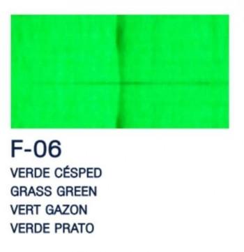 PAJARITA ACRI. FLUOR. F-06 VERDE CÉSPED