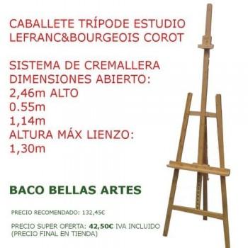 CABALLETE ESTUDIO CON CREMALLERA E INCLINACION L&B COROT