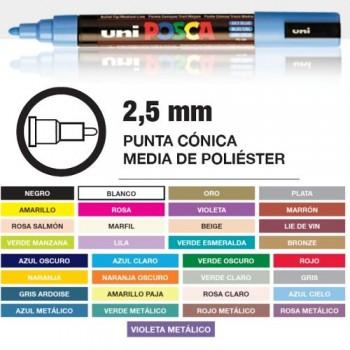 POSCA PC-5M MEDIO 2,5mm
