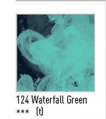 N.P124 FW ACRÍLICO LÍQUIDO WATERFALL GREEN