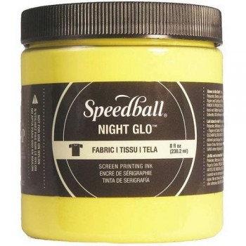 Speedball 237ml Tinta serigrafía fosforescente Amarillo