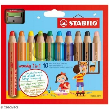 STABILO Woody  3 en 1