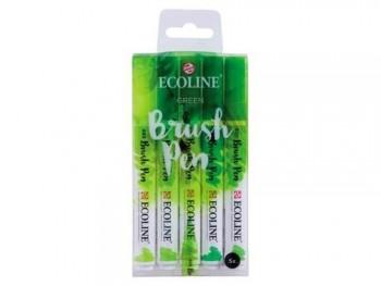 ECOLINE BRUSHPEN X5 GREEN