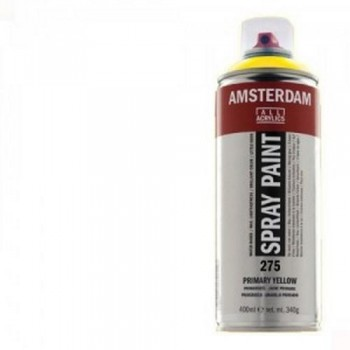 N.105 ACRIL. AMSTERDAM SPRAY 400ml BLANCO TITAN.