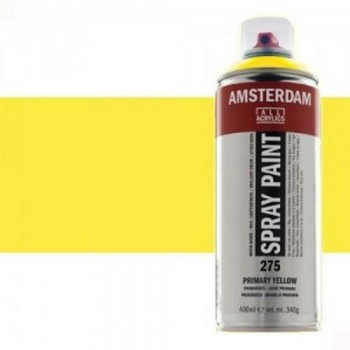 N.267 ACRIL. AMSTERDAM SPRAY 400ml AMARIL.AZO LM