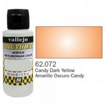 VALLEJO PREMIUM Candy Colors 60ml Amarillo Oscuro Candy