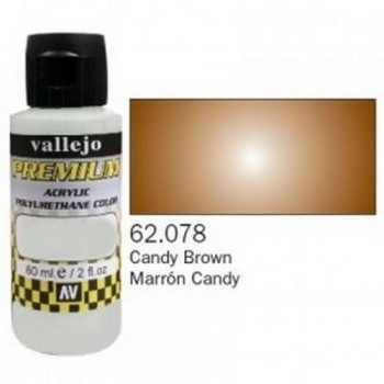 VALLEJO PREMIUM Candy Colors 60ml Marrón Candy