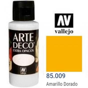 N.009 VALLEJO ARTE DECO- Amarillo Dorado 60ml OPACO