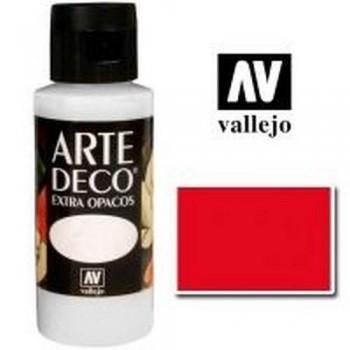 N.029 VALLEJO ARTE DECO- Rojo Fuego 60ml OPACO