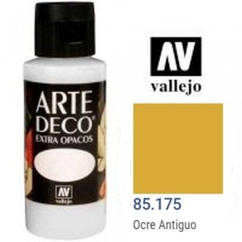 N.175 VALLEJO ARTE DECO- OCRE ANTIGUO 60ml