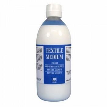 VALLEJO PROD.AUX. Medium Textil 500 ml.