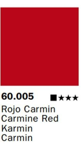 Inks Color Rojo Carmin