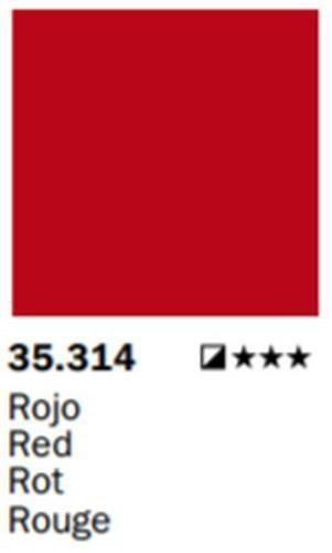 VALLEJO TINTA INDIAN Rojo