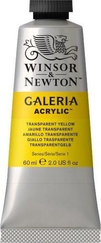 N.653 W&N ACRI. GALERIA - AMARILLO TRANSPARENTE