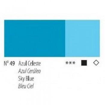 N.49 AZUL CELESTE  - ACRI. GOYA ESTUDIO