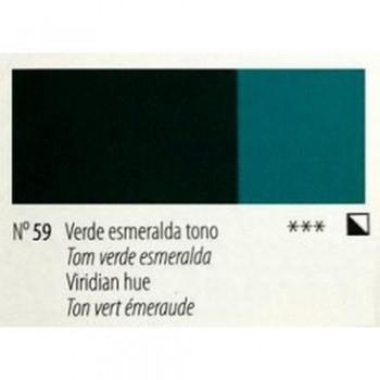 N.59 VERDE ESMERALDA TONO  - ACRI. GOYA ESTUDIO