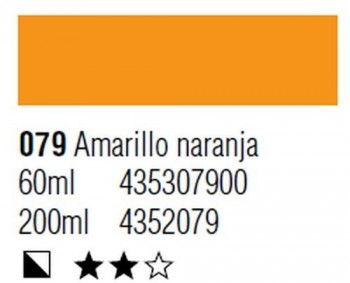 ÓLEO START 200ml 079 AMARILLO NARANJA