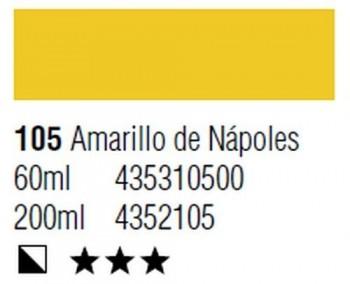 ÓLEO START 200ml 105 AMARILLO NÁPOLES