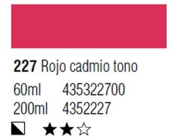 ÓLEO START 200ml 227 ROJO CADMIO